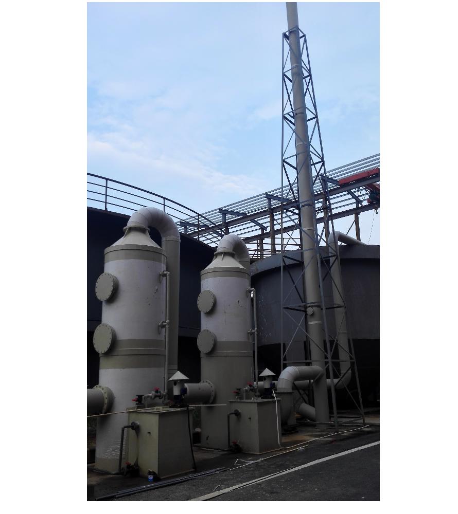 印染厂废气处理